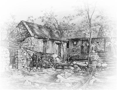 再后来新农村建设,我们家族响应号召带头拆房子,我也就拆了老宅上的